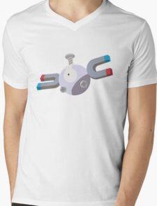 Magnemite Pokemon Simple No Borders Mens V-Neck T-Shirt