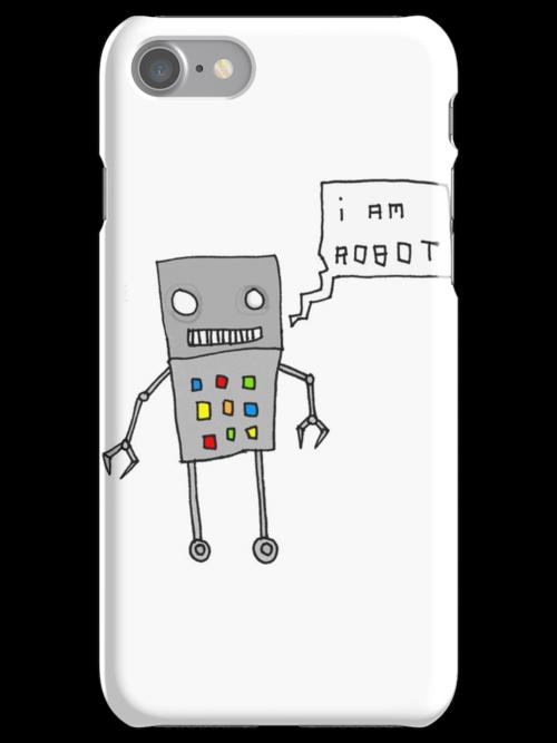 i am robot by Cat Bruce