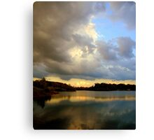 Stormy Ending  Canvas Print