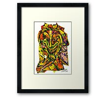 Puzzleface Framed Print