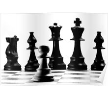 One Pawn Against The Hierarchy  Poster