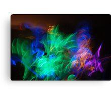 Glow Stick Dance Canvas Print