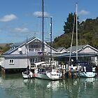 Quaint Little Opua,  Bay of Islands,  New Zealand. by Roy  Massicks