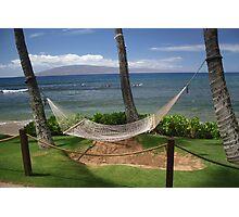Maui Hammock Photographic Print