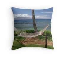 Maui Hammock Throw Pillow