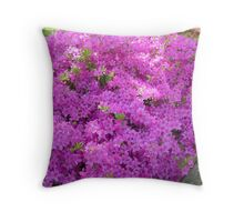 Magesty Of Purple Throw Pillow