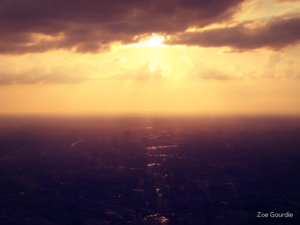 gleaming skyline by schizomania