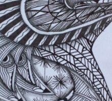 Tangled Eagle No. 3 Sticker