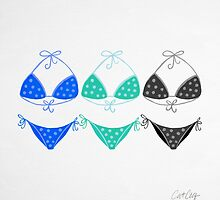 Bikini Collection #2 by Cat Coquillette