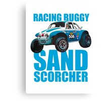 Sand Scorcher Racing Buggy Canvas Print