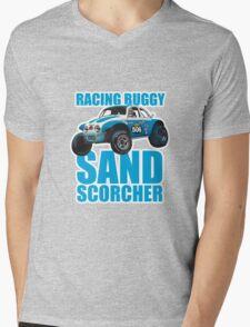 Sand Scorcher Racing Buggy Mens V-Neck T-Shirt