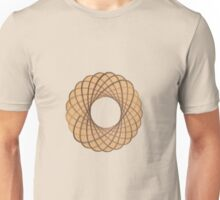 Spirograph on old paper Unisex T-Shirt