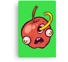 Holey Apple Canvas Print