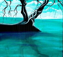 Tolkien Poem with art by ANGIECLEMENTINE - deep roots by Angieclementine