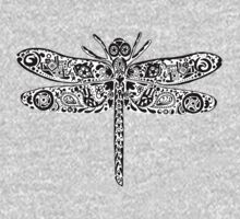 Dragonfly Doodle T-shirt Kids Clothes