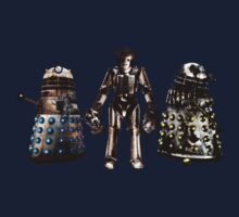 Destroyed Daleks and Rogue Cyberman Kids Clothes