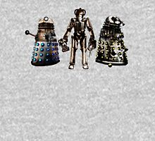 Destroyed Daleks and Rogue Cyberman T-Shirt