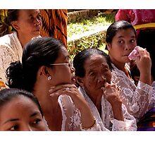 Ubud Group of Ladies, Bali Photographic Print