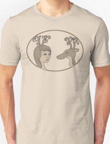 Antlers T-shirt  T-Shirt