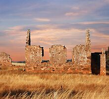 Woodchester Church Ruins - Murray Valley, South Australia by Mark Richards