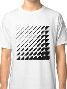 Squarangle Black Classic T-Shirt