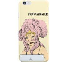 Procrastination iPhone Case/Skin