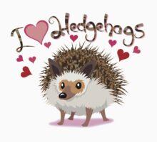 Love Hedgehogs One Piece - Long Sleeve