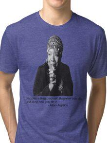 Maya Angelou Tri-blend T-Shirt