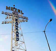Flagstaff Motel by Rick Box