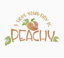 Peachy!  Kids Tee