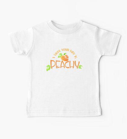 Peachy!  Baby Tee