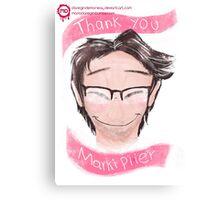 thank you markiplier Canvas Print