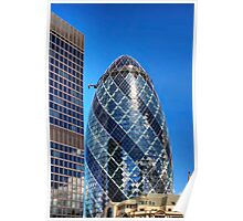 London Gherkin Poster