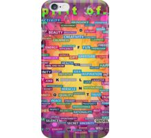 Positive Dictionary - English iPhone Case/Skin