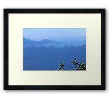 Sunrise on the Amazon Framed Print