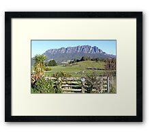 Mt Roland -  Framed Print