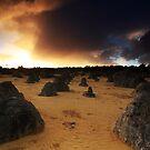 Sunrise at The Pinnacles by Tatiana R