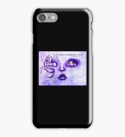 Tolkien - Poem with art by ANGIECLEMENTINE LOTR iPhone Case/Skin