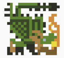 Pixel Rathian by skullnuku