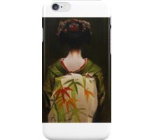 The Scarlet Fringe - japanese geisha art iPhone Case/Skin