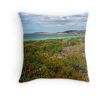 Rossiter Bay, Cape Le Grande National Park, Esperance,  Western Australia (Y) Throw Pillow