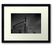 Gasworks, Launceston Framed Print
