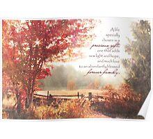 Adoption Greeting Card Poster