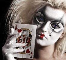 naughty clown by alana janesse artist/ makeup artist