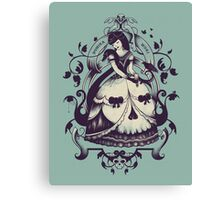 Mrs. Death Canvas Print