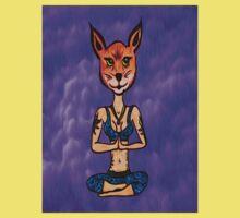 Foxy Meditation One Piece - Short Sleeve