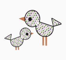 Mummy Bird & Baby Bird by Pip Gerard