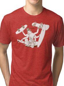 Bored? ...... Board! Tri-blend T-Shirt