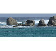 The Sea Rocks! Photographic Print
