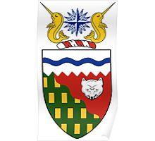 Northwest Territories Coat of Arms  Poster